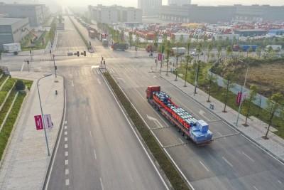 New highway freight service links China, Kazakhstan