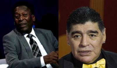 Pele vs Maradona: A rivalry that found peace in bitterness