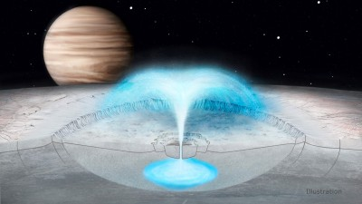 Plumes on Europa could come from water in Jupiter moon's crust