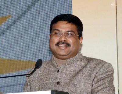 Pradhan takes on Priyanka in war of words on farm laws