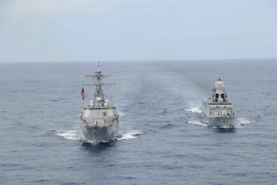 Quad coalition's naval drill in Indian Ocean Region ends