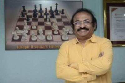 Renowned chess coach Joseph D'Souza is dead