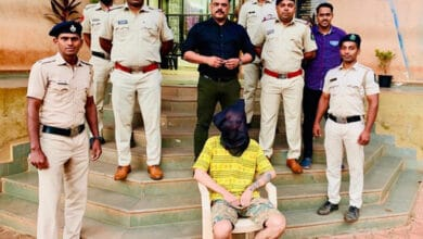 Photo of Goa Police arrest Russian national, seizes ganja worth Rs 10,000