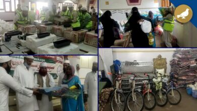 Photo of Sabeel trust distribute relief packages in flood affected areas