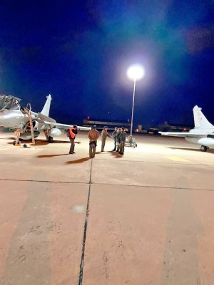 Second batch of three Rafale combat aircraft arrive in India