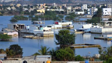 Photo of In pics: Still-submerged areas of Hyderabad's old city