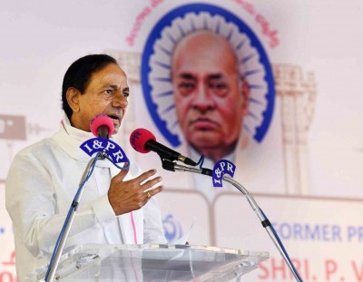 Some forces conspiring to incite communal clashes, says KCR