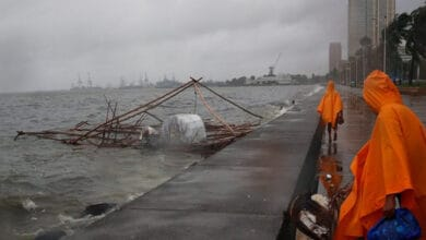 Photo of Super Typhoon Goni batters Philippines, 4 dead so far