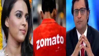 Photo of Swara Bhasker asks Zomato to pull down ads from Arnab Goswami's Republic Bharat