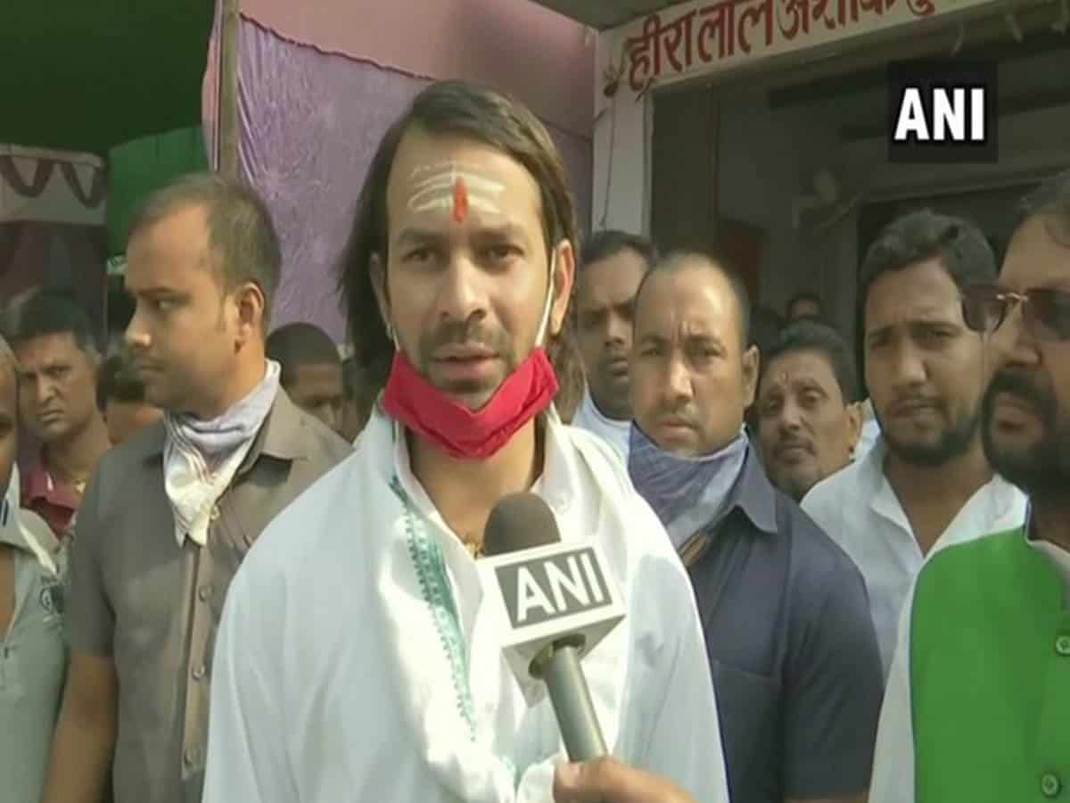 Bihar has become 'Lalumay': Tej Pratap Yadav