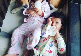 TV star Sourabh Raaj Jain introduces his kids on Children's Day