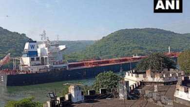 Photo of Largest cargo ship 'The Oslo' arrives at Visakhapatnam port
