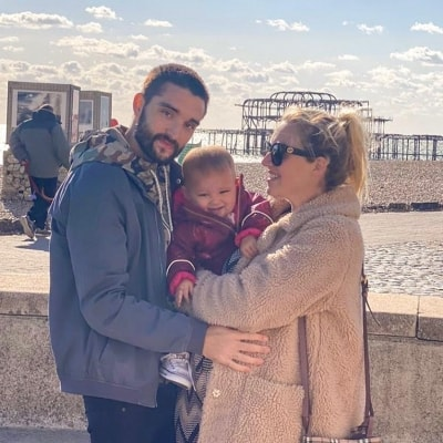 Tom Parker finds it 'tough' not being hands-on with new baby amidst tumour treatment
