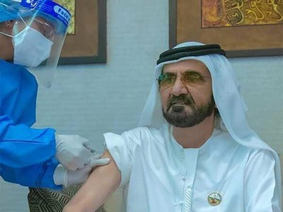 UAE PM takes a shot of Chinese Covid vaccine