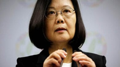 Tsai Ing-wen stresses improved relations with the US