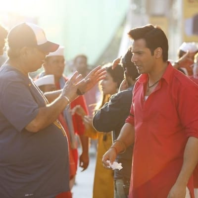 Varun shares 'main brief' by David Dhawan during 'Coolie No 1' shoot