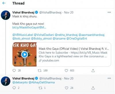 Vishal Bhardwaj, Vishal Dadlani collaborate on a 'relevant, necessary' song