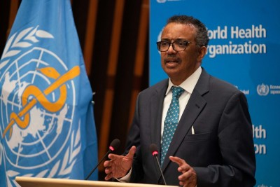 WHO chief urges global system for sharing pathogen materials