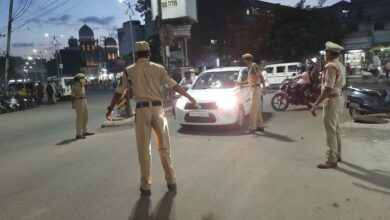 Photo of GHMC Elections: City police starts vehicle check drive