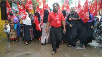 Photo of In pics: Women corporators hit streets to campaign for GHMC polls