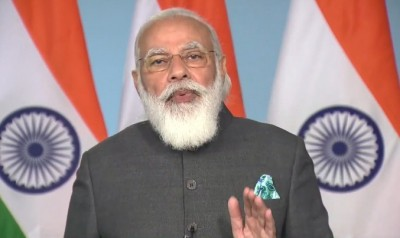 When PM gushed over his painting by a Parbhani student