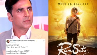 Akshay Kumar's Ram Setu criticised Over 'Myth Or Reality' tagline