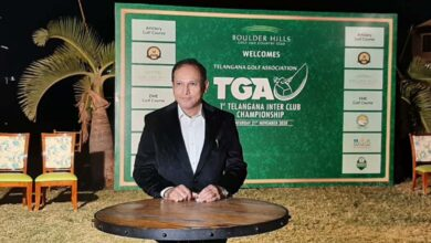 Photo of Mir Nasir Ali Khan elected as the General Secretary of Telangana Golf Association