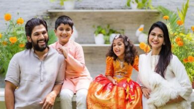 Photo of Allu Arjun's daughter Allu Arha makes onscreen debut