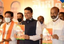 Photo of Will scrap LRS if voted to power BJP releases manifesto for Hyderabad civic polls