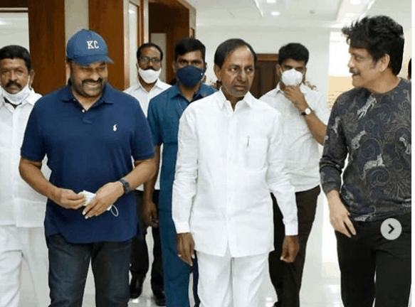 Day after meeting KCR, megastar Chiranjeevi test positive for COVID-19
