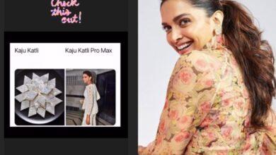 Monday Meme: Deepika Padukone compares her Diwali outfit to 'kaju katli'