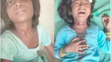 father slit throat of 2 daughters