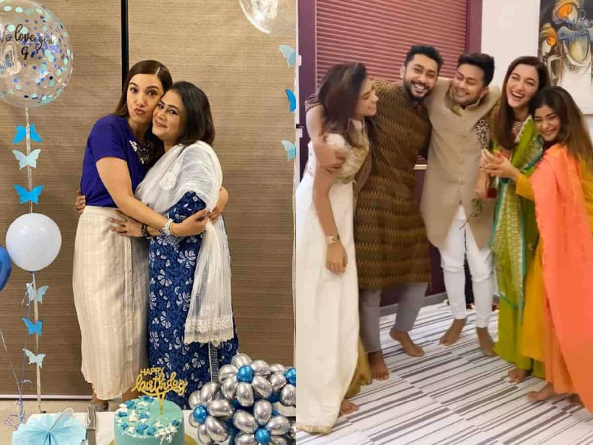 Zaid Darbar's fam welcome Gauahar Khan in the most adorable way!