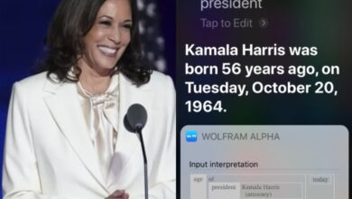 Siri refers to Kamala Harris as US President; netizens in shock