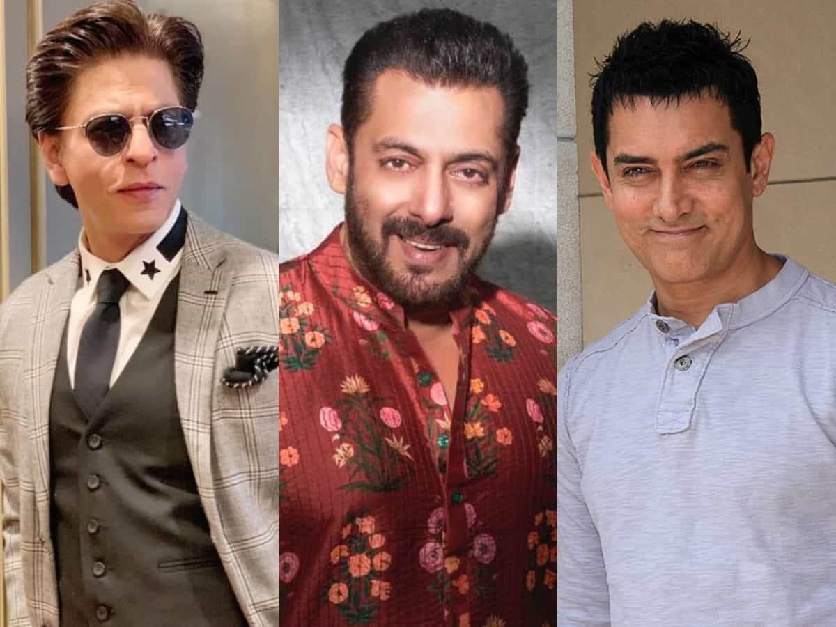 First Time In Bollywood's history: Shah Rukh, Salman, Aamir to share screen together