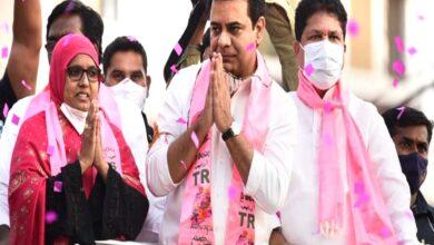 Photo of Teach BJP a lesson in GHMC polls: KT R in Roadshow