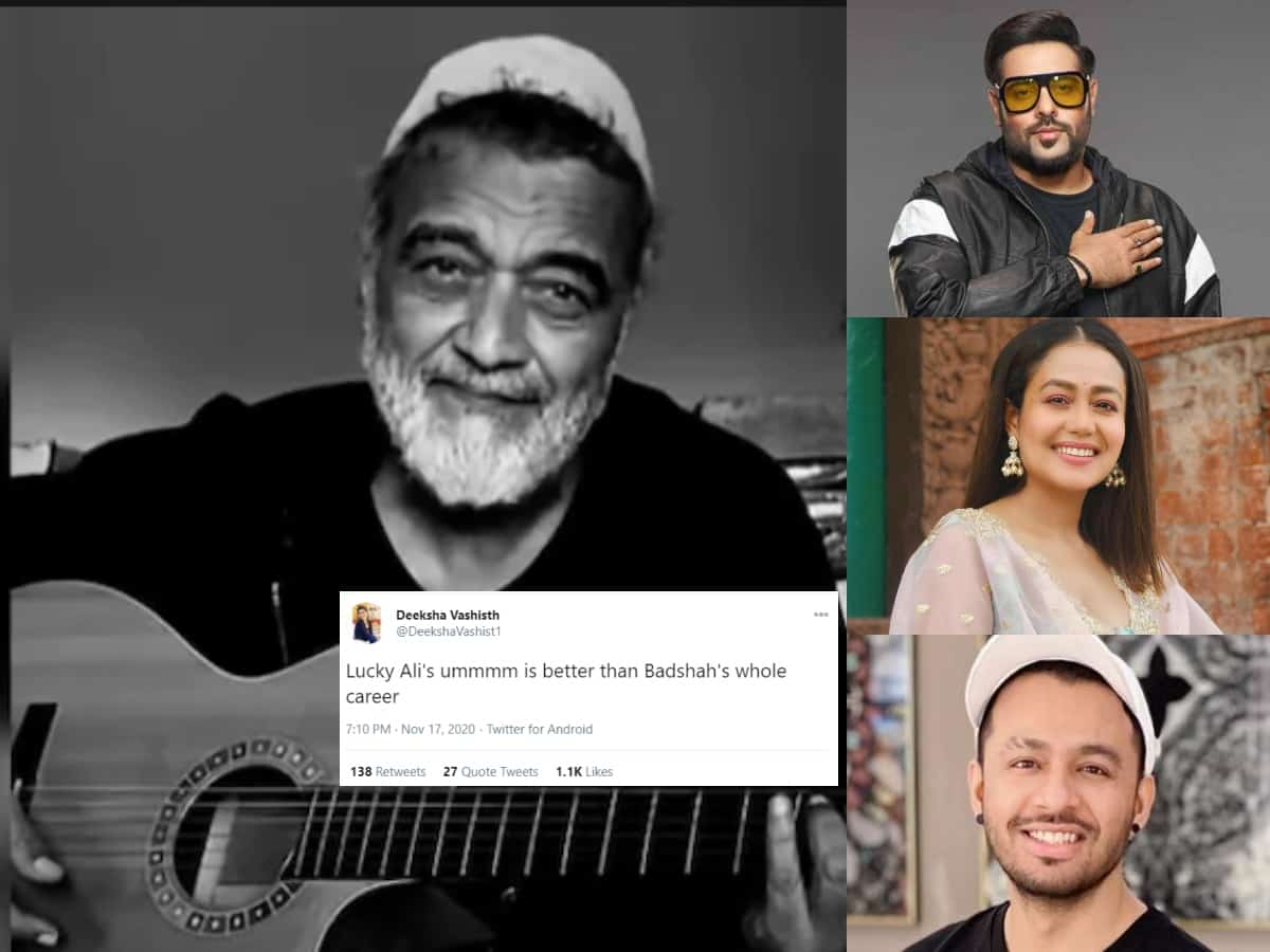 Overwhelmed with Lucky Ali's 'O Sanam', Twitterati trolls Kakkars & Badshah