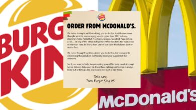 Photo of Why Burger King is urging customers to 'order from Mc Donalds'?