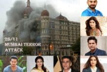 Photo of 26/11 Mumbai Terror Attacks: Film, sports fraternity pay tribute to the martyrs