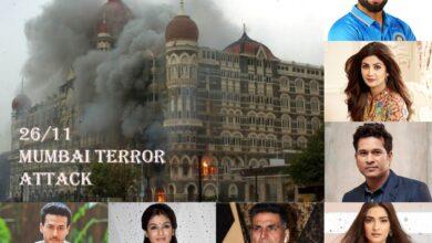 26/11 Mumbai Terror Attacks: Film, sports fraternity pay tribute to the martyrs