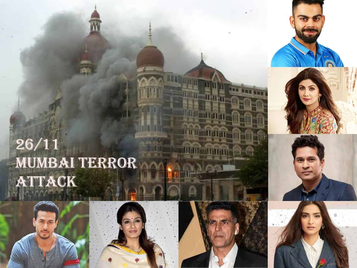 26/11 Mumbai Terror Attacks: Film, sports fraternity pay tribute to the martyrs