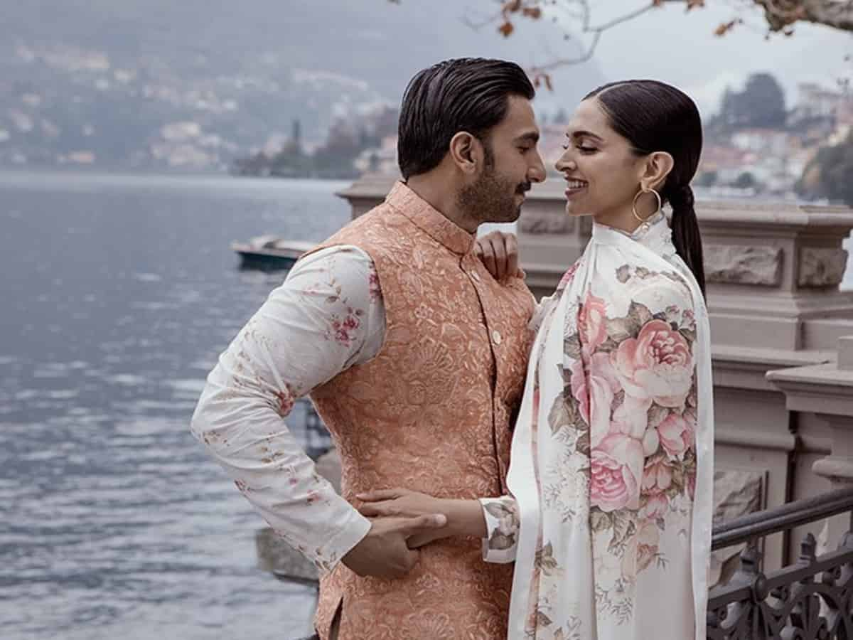 'Two peas in a pod': Deepika, Ranveer share lovely pics on their wedding anniversary