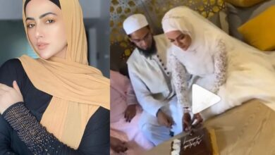Photo of Sana Khan ties knot with Mufti Anas in Gujarat
