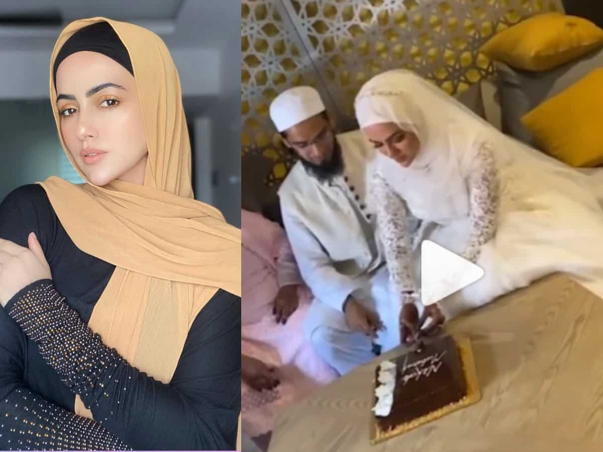Sana Khan ties knot with Mufti Anas in Gujarat