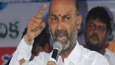 Photo of Telangana BJP Chief Bandi Sanjay files complaint with cyber crimes