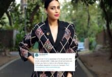 Photo of Swara Bhasker strongly responds to those outraging over temple kissing scene in Netflix series