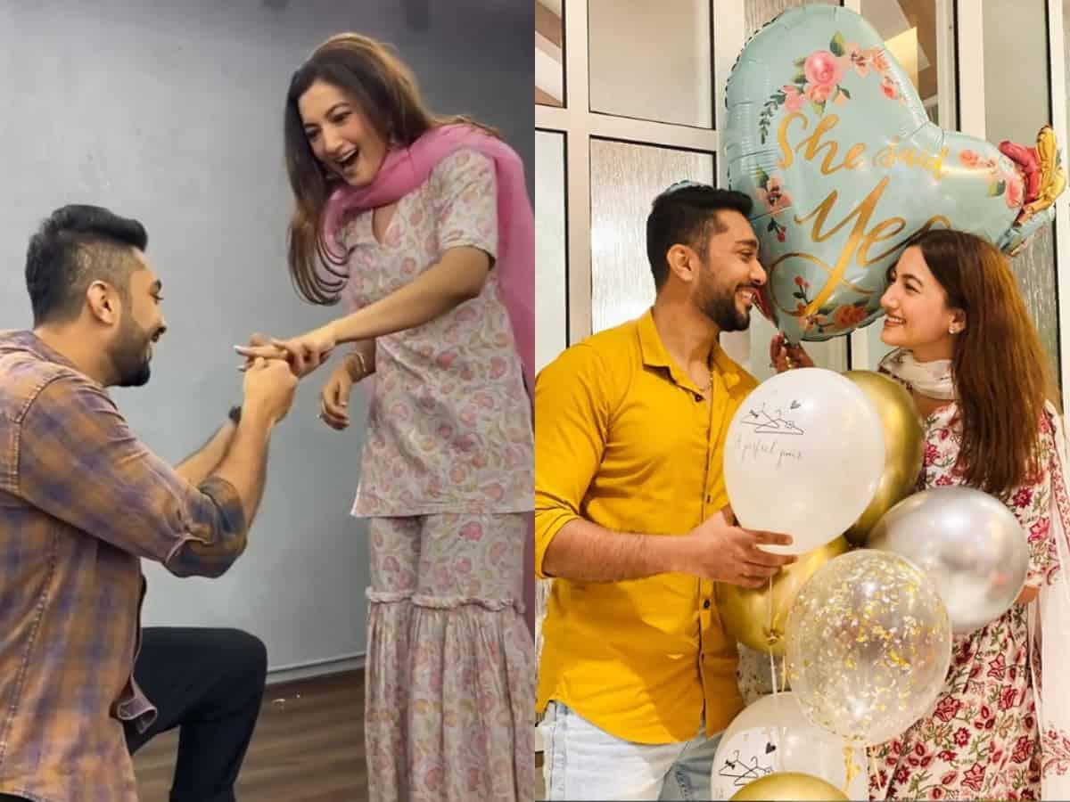 It's official! Gauahar Khan, Zaid Darbar gets engaged, see pics