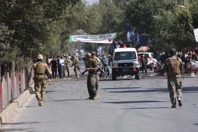 2 killed in Kabul blast targeting lawmaker's vehicle
