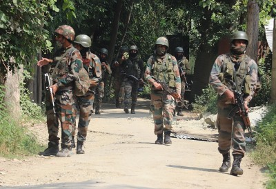 2 terrorists surrender during encounter in Kashmir