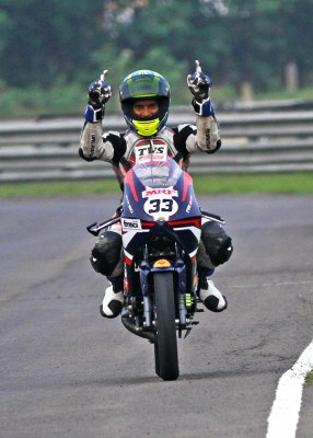 2 wheel National C'ships: Ahamed starts round 2 with twin wins